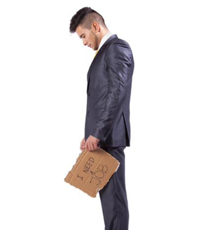 Sad jobless man © Helder Almeida   Dreamstime.com