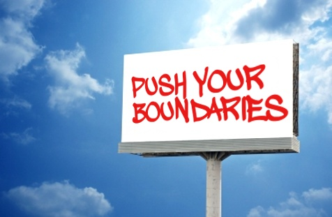 Push your boundaries billboard © scottchan | freedigitalphotos.net