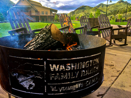 Fire pit at Washington Family Ranch © Bootcamp NW