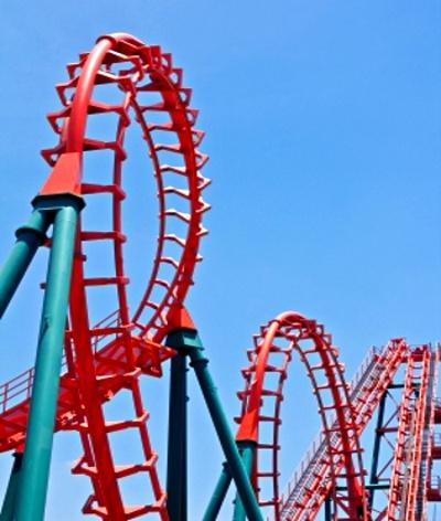 Roller-coaster © ponsulak | freedigitalphotos.net