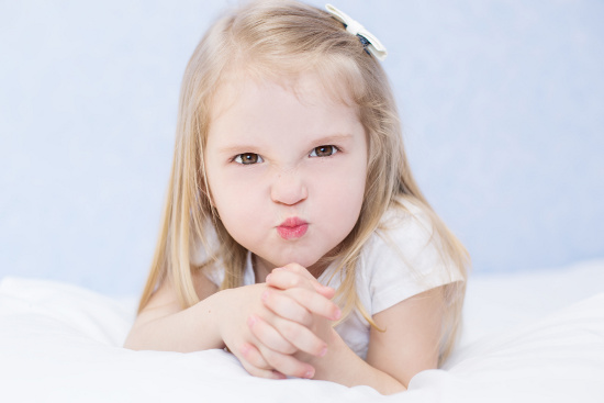 Manipulative little girl © marchibas | dollarphotoclub.com