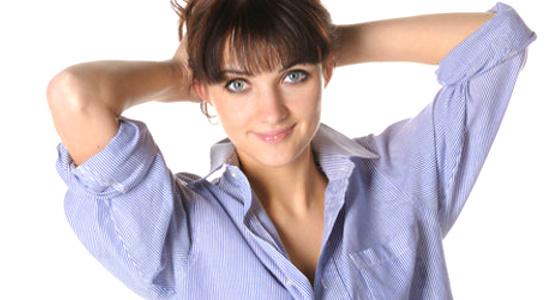 Woman in hubby's Shirt  © Konstantin Kamenetskiy | Dreamstime.com