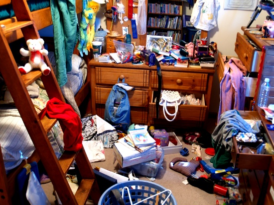 Messy Kids Room © Joseph Helfenberger | dollarphotoclub.com