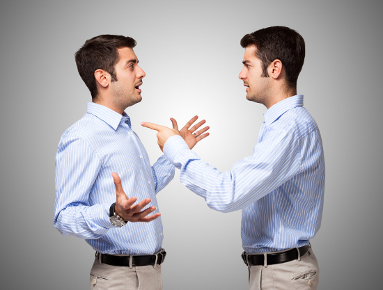 Man accusing himself © Minerva Studio | dollarphotoclub.com