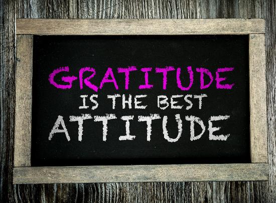 Gratitude is the best  attitude © gustavofrazao | dollarphotoclub.com