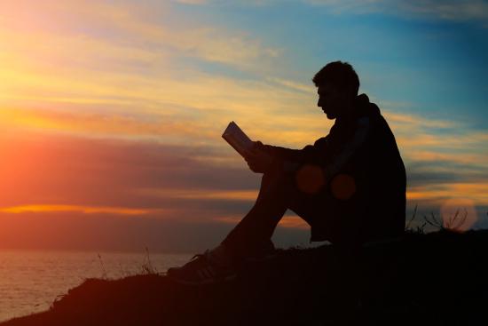 Man Praying at Sunset Man praying at sunset © Yurly Seleznyou | stock.adobe.com