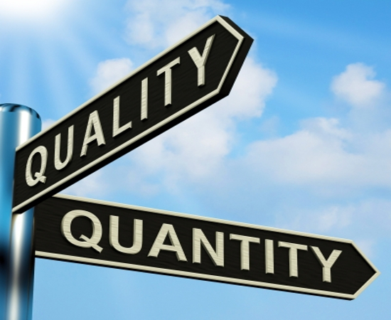 Quantity vs Quality In Bed