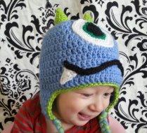 blue monster hat