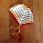 Scandi-inspired baby hat