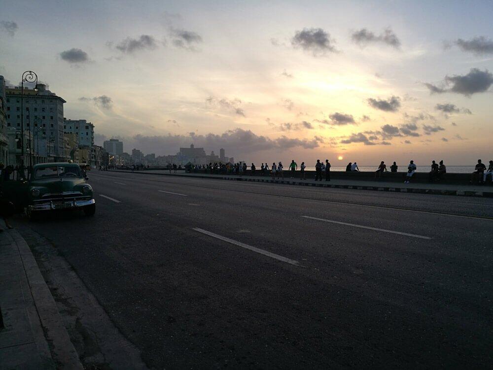 Melecon na Kubie