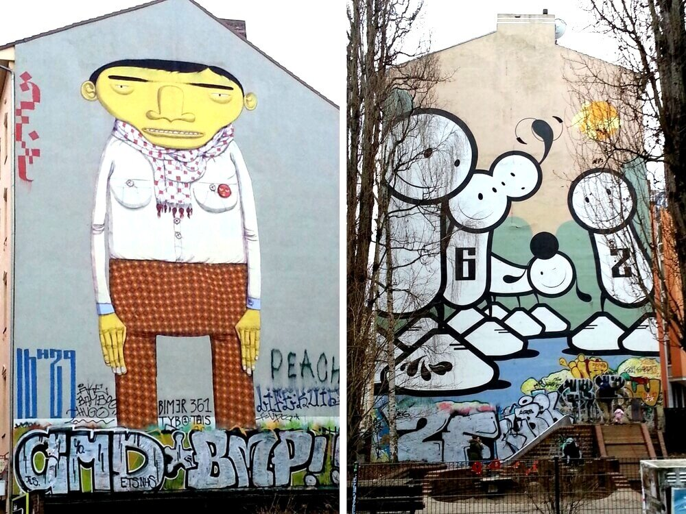 Graffiti Berlin Kreuzberg