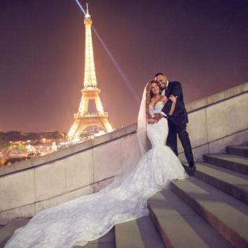 Adrienne Bailons Official Wedding Photo Is Drop Dead