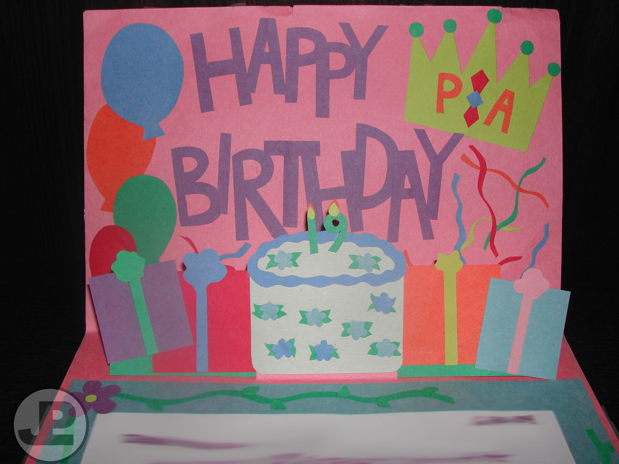 Birthday Card They Call Me Crafty