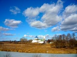 Suzdal's Kremlin from across the river.
