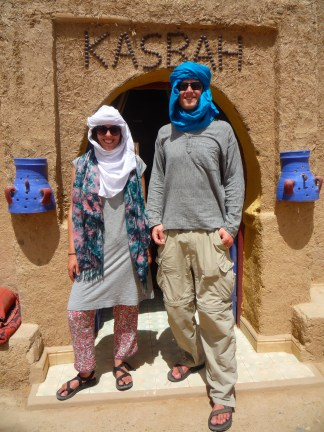 We eventually earned the nicknames of Fatima and Ali Baba during our stay in Merzouga.