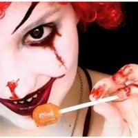 My Eyeballs Roll This Terrible Terrain: Evil Clown Makeup Tutorial