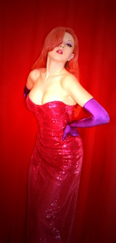 Sexy Real life Jessica Rabbit Cosplay by PinkMurka