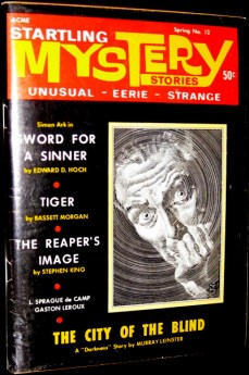 $250 First Edition 'The Reaper's Image' in Startling Mystery Stories, Spring Vol 2 No 12 early Stephen King