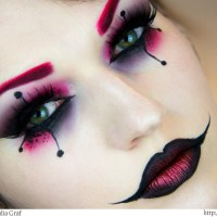 The Joke's On You: DIY Harley Quinn Makeup Tutorial