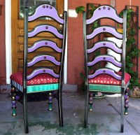 Mackenzie-Childs Inspired Chair Make-over on Found Alley ...