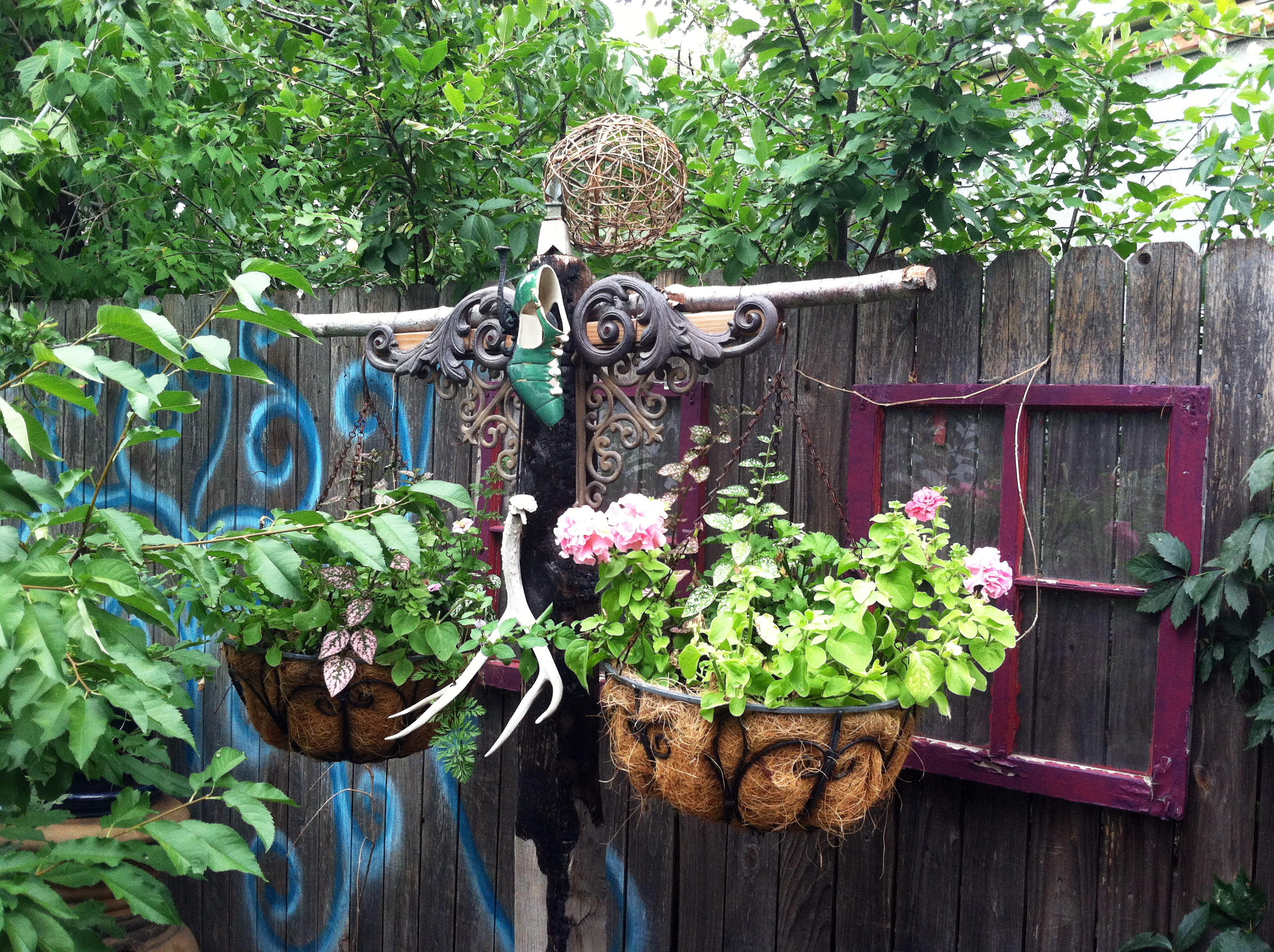 Part 2! Big Crazy Bohemian Garden It's Not Mine It's Tiffany's