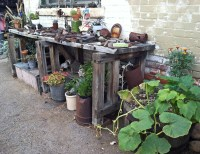 Recycled Backyard Ideas