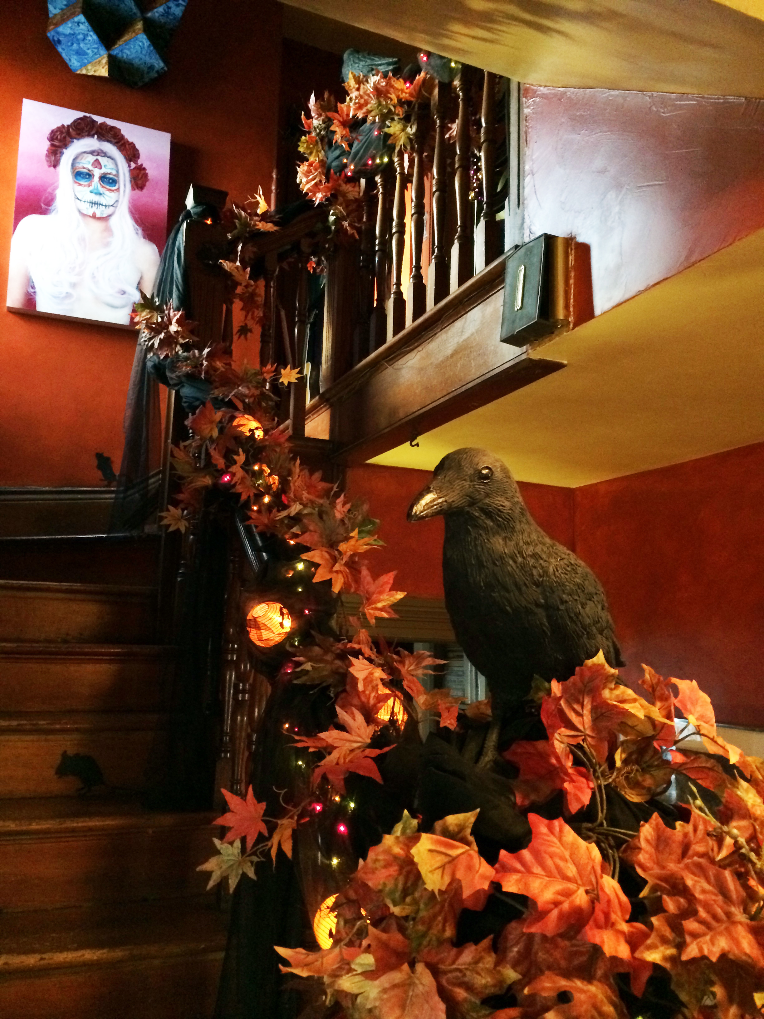 Victorian Gothic Halloween A Home Tour Part 2 The Entry