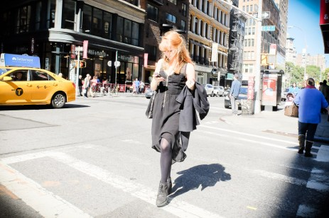 Out on the street