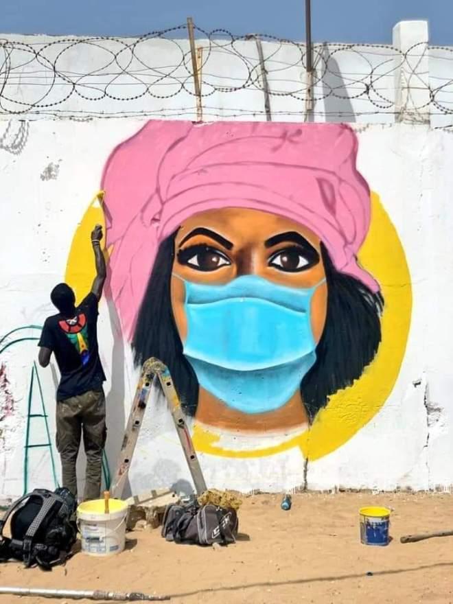 Senegal Streetart