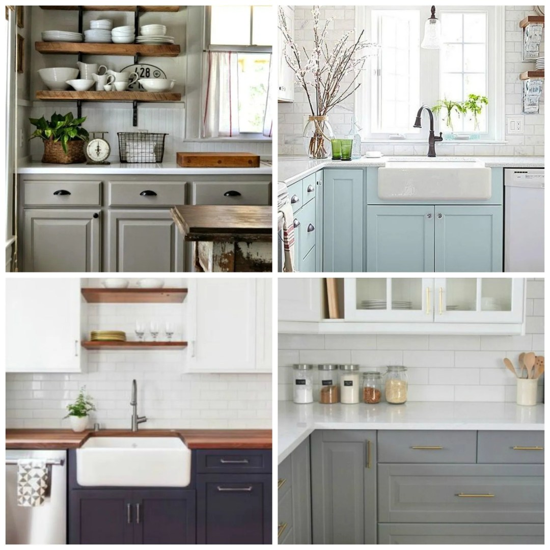Here are a few kitchens that I loooove!