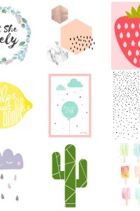 51 Free Printables for Kids Rooms