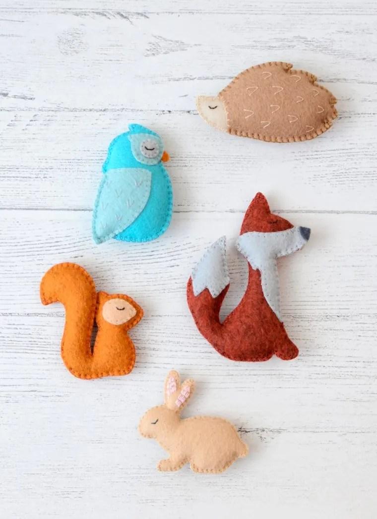 Free Felt Pattern : pattern, Little, Bunny, Pattern, Yellow, Birdhouse