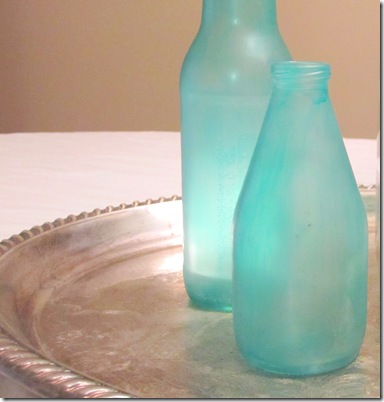 Diy Sea Glass Bottles Fail The Yellow Cottage