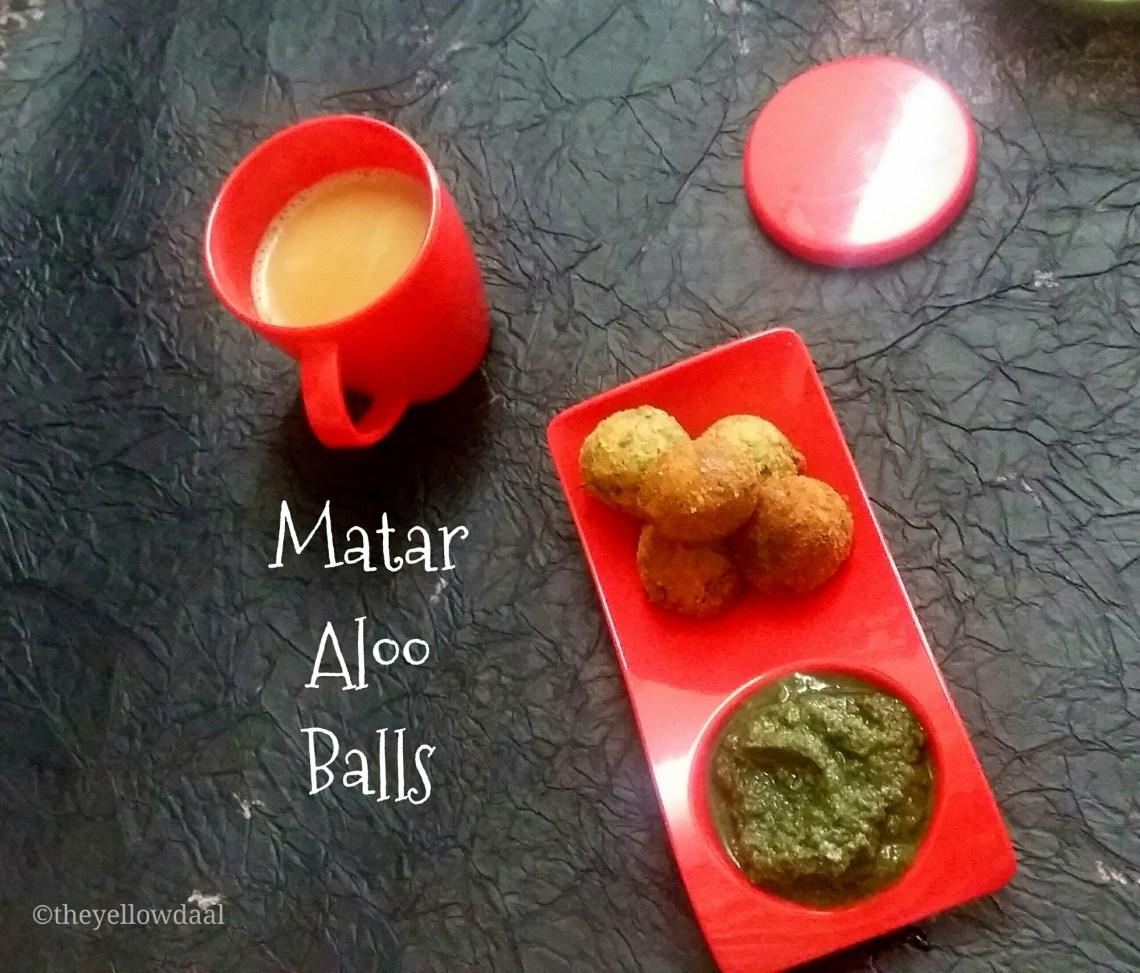Matar-Aloo-Balls
