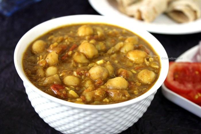 Punjabi-Sukhe-Chole