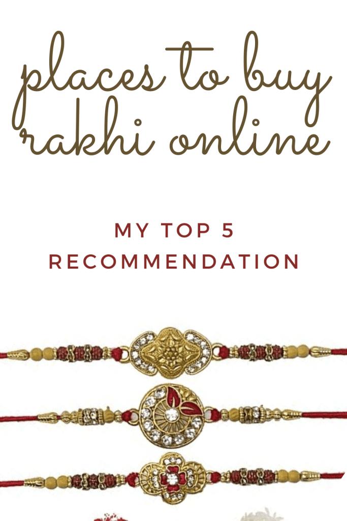 Places to buy rakhi online