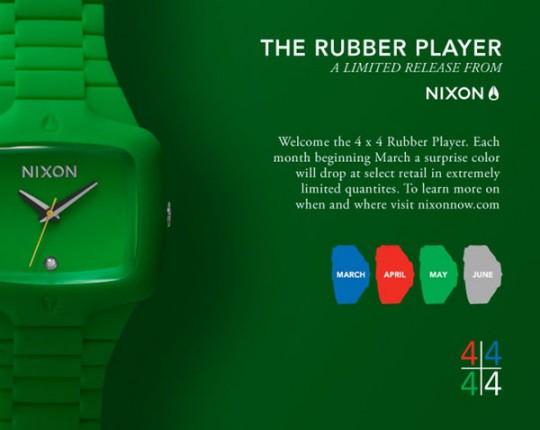 nixon rubber player vert