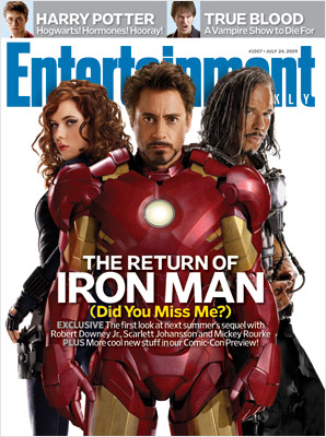 iron man 2 cover mag