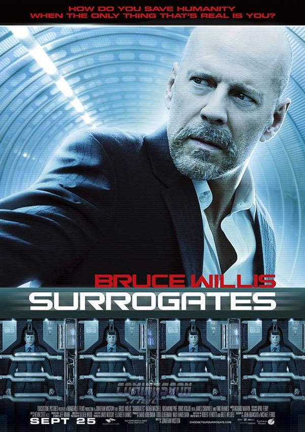 bruce willis surrogates clones