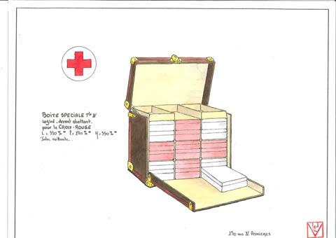 louis vuitton croix rouge 2