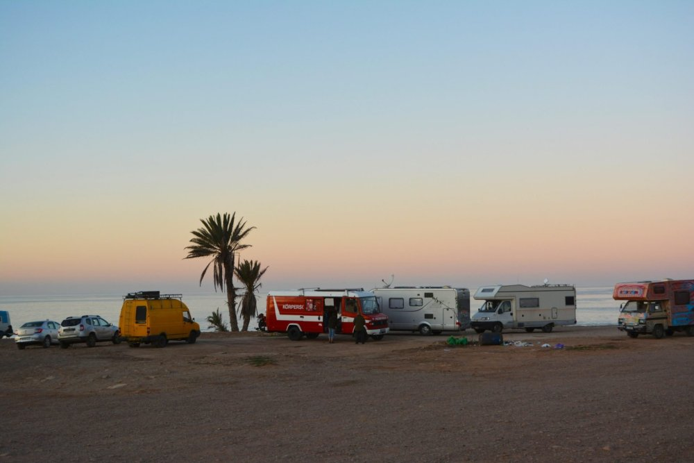 Free camping in Morocco