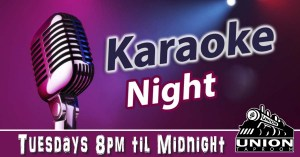 karaoke in pocatello at the union taproom