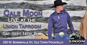Cale Moon at the Union Taproom