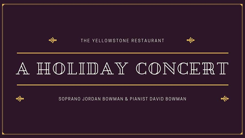 Holiday Concert at The Yellowstone