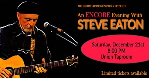 Steve Eaton at the Union Taproom