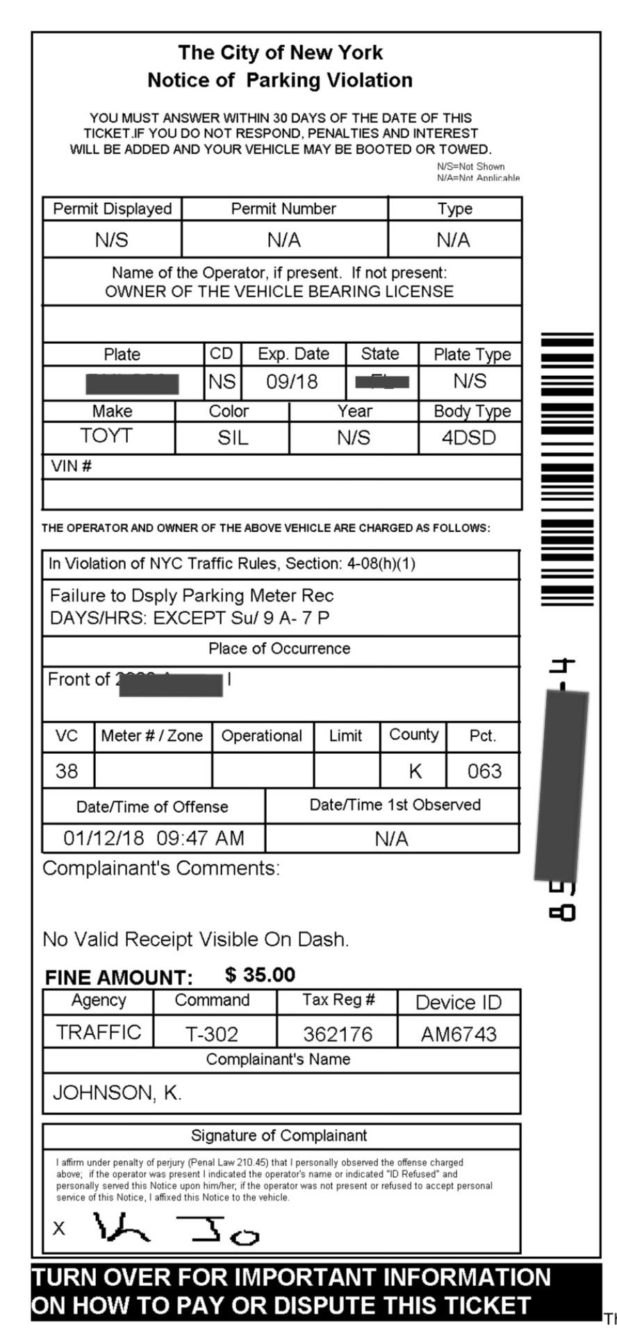 Nyc Gov Parking Tickets : parking, tickets, Councilman, Chaim, Deutsch, Announces, Dismissing, Parking, Tickets, Yeshiva, World