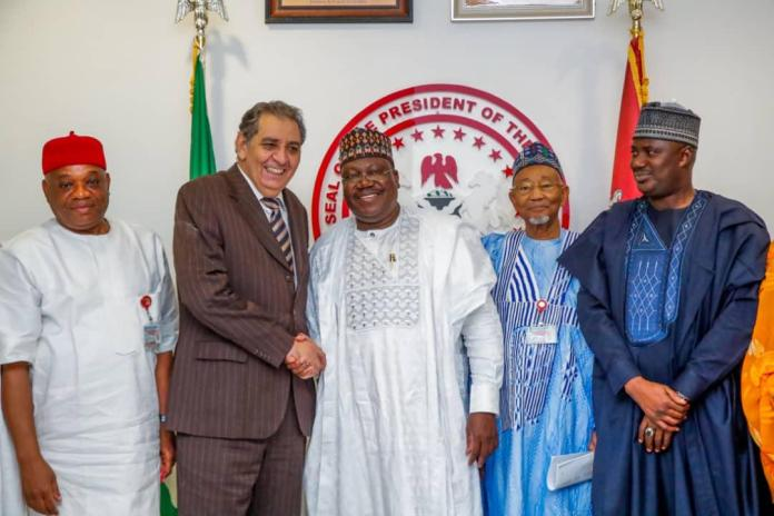 Image result for Ahmed Lawan Calls For Closer Bilateral Relationship For Nigeria, Egypt