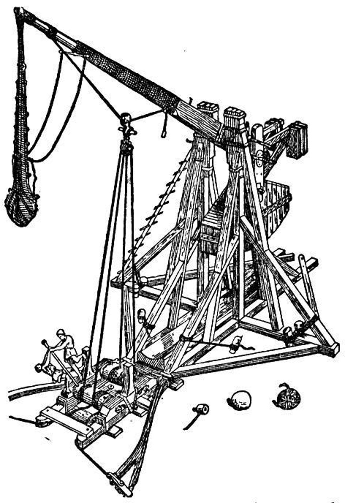 Plans to build Paperclip Trebuchet Instructions PDF Plans