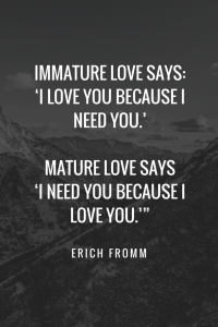 Quotes About Love - Erich Fromm