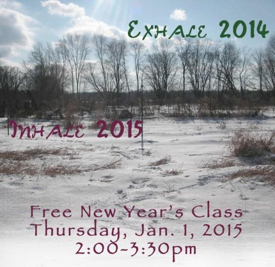 new years yoga, the yoga house, free yoga, yoga class